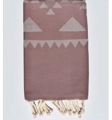 Rose Mountbatten beach towel
