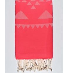 pink beach towel