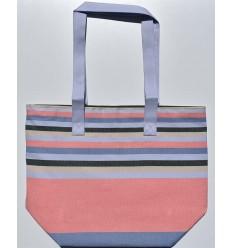 sac de plage 5 couleurs incarnadin pervenche,beige,vert foret et bleu guéde avec bandouliére vert foncé