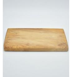 Olive wood board rectangular 25cm