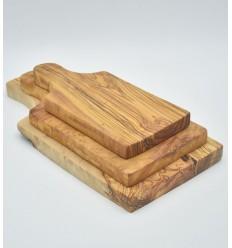 Set of 3 boards olive wood