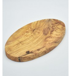 Oval olive wood board