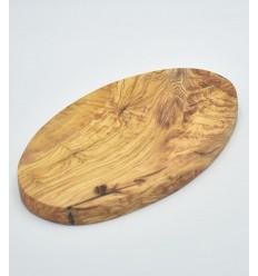 Planche ovale en bois d'olivier