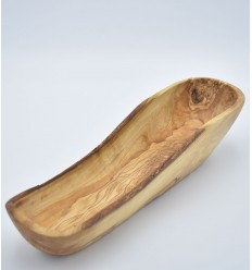 Olive wood bread basket