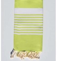 Beach Towel lime green