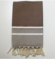 Flat Dark medium gray fouta