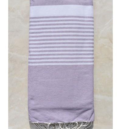 lavender throw