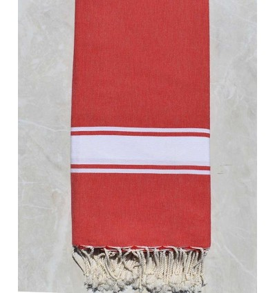 Couple 2m*2m red throw