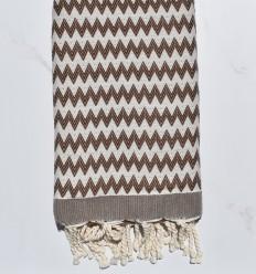 Zigzag marron blet