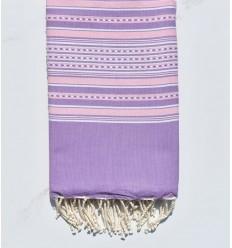 Arabesque violet clair et rose clair