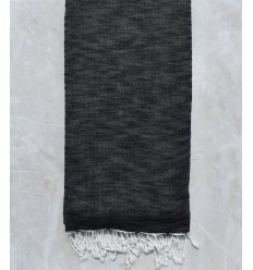 Copriletto fiammato grigio nero 1.95m*2.70m