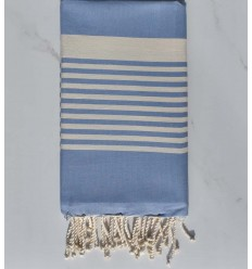 Beach towel arthur medium blue king