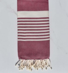 beach towel Arthur light plum