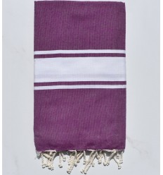 beach towel flat purple