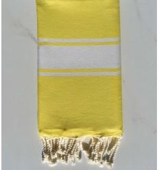 Plate jaune fluo brillant