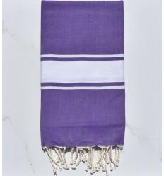 Plate couleur violet améthyste