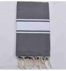 medium gray Beach towel