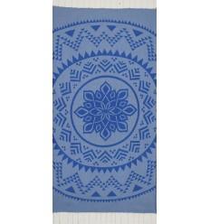 Bohémian couleur bleu