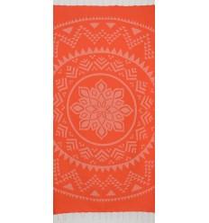 Bohémian couleur orange