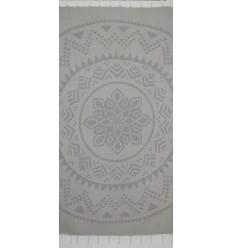 Bohémian couleur gris clair