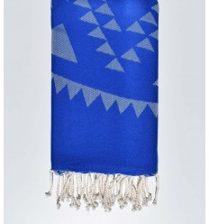bohemian beach towel Royal blue