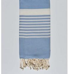 toalha de praia de arthu centáurea azul