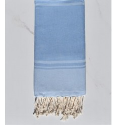 Beach towel RAF-RAF blue cornflower and blue sky