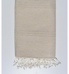 Bed Throw beige sand