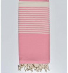 Bettüberwurf rosa baby