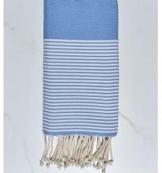 Beach towel Honeycomb aero and white