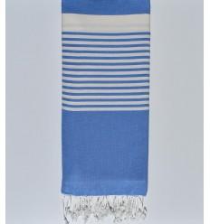 copriletto blu fiordaliso