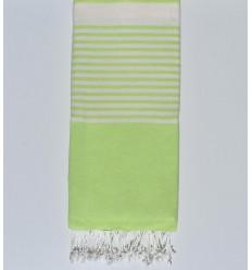 cubre cama anisado verde claro