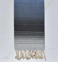 5 couleurs gris clair, ardoise, bleu guède,bleu et bleu azur clair