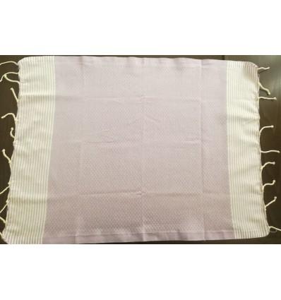 Lot de 10 serviettes de table glycine