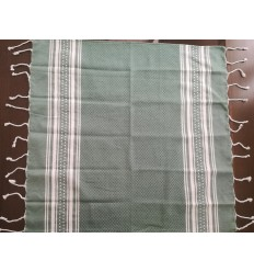 Lot de 10 serviettes de table vert