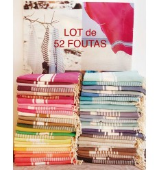 Lot Fouta 52