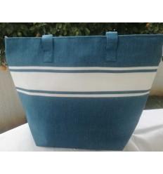 Bondi blue beach bag