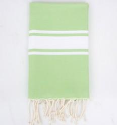 Fouta classique vert chartreuse clair